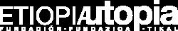 logotipo blanco etiopia utopia