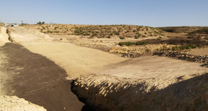 Dassa Mini Dam. Regadío para las familias campesinas