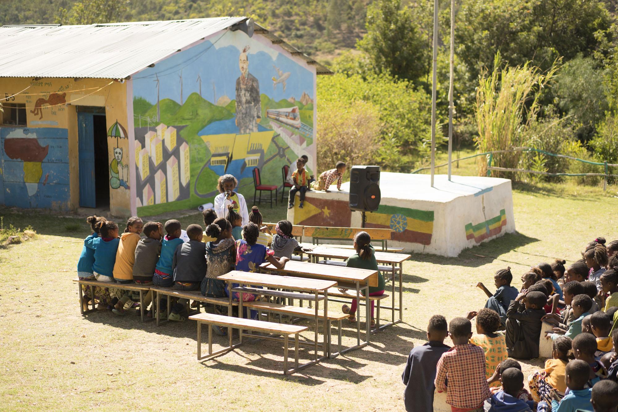 Proyectos educación voluntariado etiopía