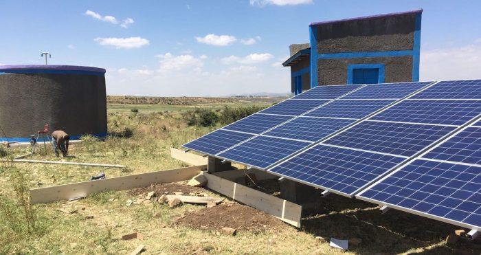Formación en energías renovables - proyecto solidario en Etiopia